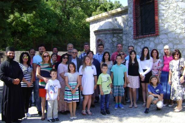Εορτασμός του Αγίου Πνεύματος 2015